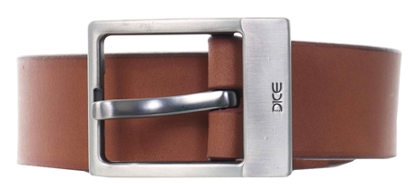 Dice Tan Reno Buckle Belt  - Click to view a larger image