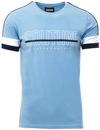 Fresh Couture Blue Aquitaine T-Shirt  - Click to view a larger image
