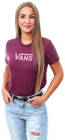 Vans Prune Flying V Crew T-Shirt  - Click to view a larger image