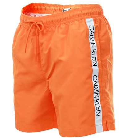 77bbd910e8 Calvin Klein Tumeric Medium Drawstring Swim Shorts | | Shop the latest  fashion online @ DV8