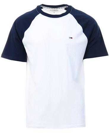 Hilfiger Denim Black Iris/Multi Contrast Block Logo T-Shirt  - Click to view a larger image
