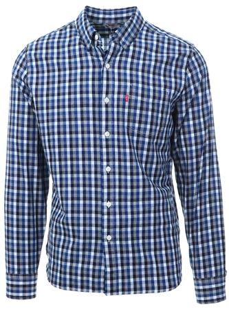 Levi's Rushmeyer Indigo - Blue Sunset Pocket Shirt  - Click to view a larger image