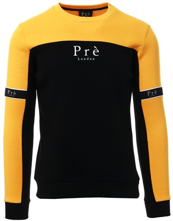 Pre London Yellow Eclipse Crew Sweat  - Click to view a larger image