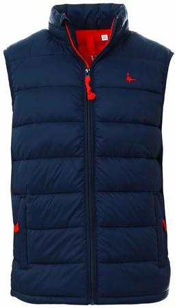 Jack Wills Navy Kershaw Gilet  - Click to view a larger image