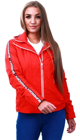 Superdry Red / Navy / White Adriatic Arctic Sd-Windcheater  - Click to view a larger image