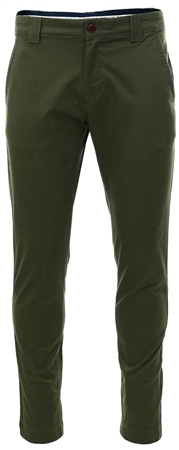 Hilfiger Denim Olive Stretch Organic Cotton Chinos  - Click to view a larger image