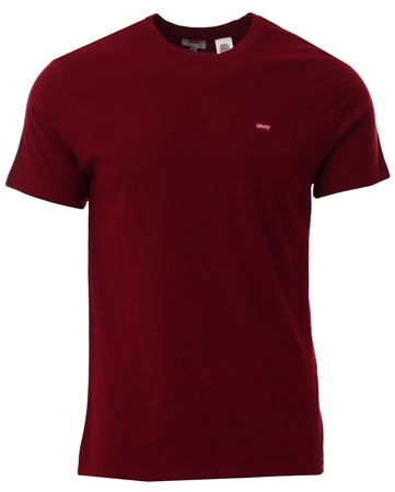 Levi's Cabernet Original Housemark Tee  - Click to view a larger image