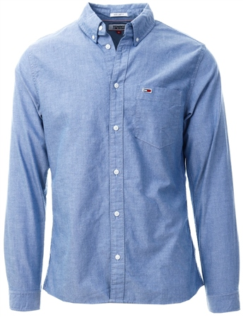 Hilfiger Denim Black Iris Tommy Classic Organic Cotton Oxford Shirt  - Click to view a larger image
