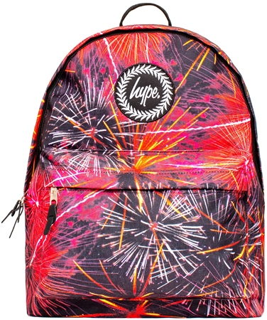 Hype Red Fireworks Backpack  - Click to view a larger image