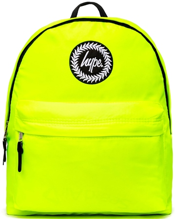 Hype Neon Green Backpack  - Click to view a larger image