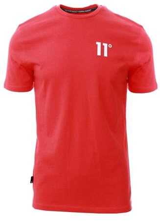 11degrees Hot Red Core T-Shirt  - Click to view a larger image