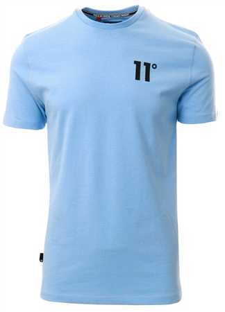 11degrees Coastal Blue Core T-Shirt  - Click to view a larger image
