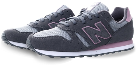 New Balance Grey 373 Lace Up Trainer  - Click to view a larger image