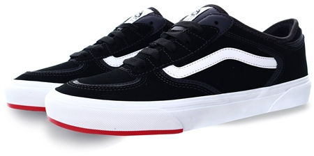 Vans Black/Red 66/99/19 Rowley Classic Shoes  - Click to view a larger image