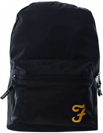 Farah Black Basic Back Pack  - Click to view a larger image
