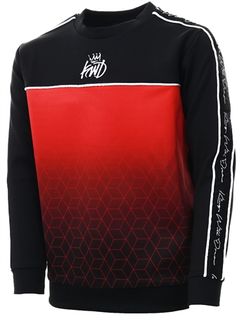 Kings Will Dream Black Junior Hex Taped Sweatshirt  - Click to view a larger image