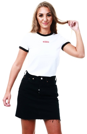 Levi's® Deconstructed Iconic Skirt  - Click to view a larger image