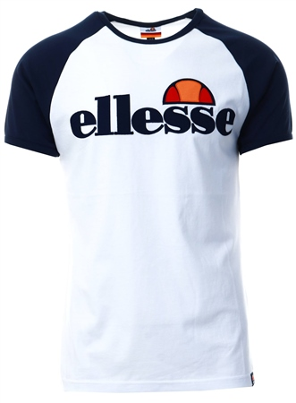 Ellesse White Piava T-Shirt  - Click to view a larger image