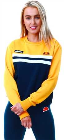 Ellesse Dark Yellow Taria Crew Sweater  - Click to view a larger image