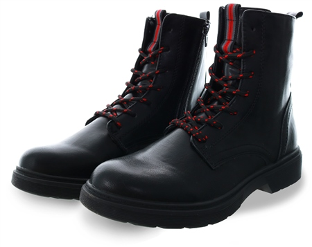 Dv8 Black Lace Up Boot  - Click to view a larger image