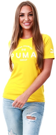 Puma Sulphur Xtg Graphic Short Sleeve Women's Top  - Click to view a larger image