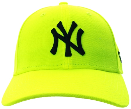 New Era Yellow Neon Essential 9forty Cap  - Click to view a larger image