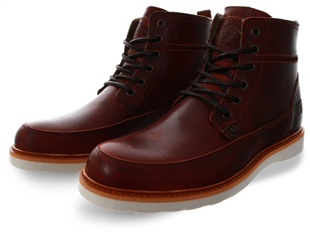Bull Boxer Brown Lace Up Boots  - Click to view a larger image