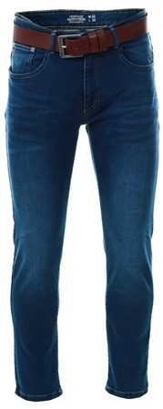 Dv8 Stonewash Straight Fit Jean  - Click to view a larger image