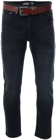 Dv8 Black Straight Fit Jeans  - Click to view a larger image