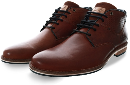 Bull Boxer Tan Lace Up Mid Shoe  - Click to view a larger image