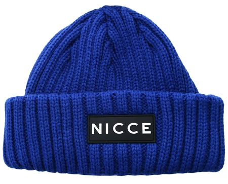 Nicce Blue Unisex Arlo Beanie Hat  - Click to view a larger image
