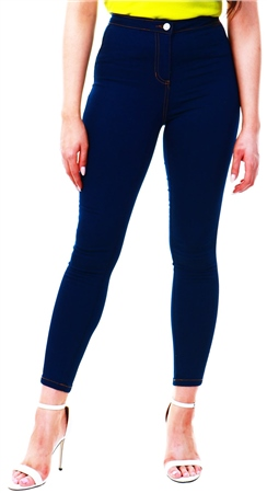 Parisian Denim Skinny Jeggings  - Click to view a larger image