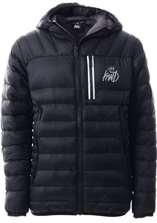Kings Will Dream Black Korley Jacket  - Click to view a larger image