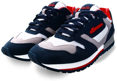 Ellesse Blue /Navy/White 147 Trainer  - Click to view a larger image