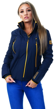 Superdry Nautical Navy Tech Velocity Sd-Windcheater Jacket  - Click to view a larger image