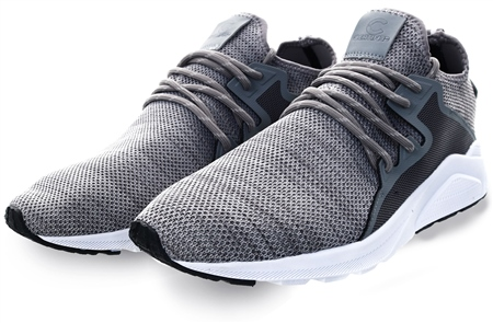 Certified Grey / White Ct 762 Mens Trainer  - Click to view a larger image