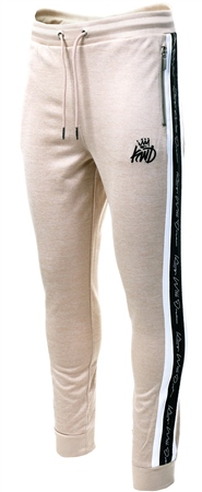 Kings Will Dream Sand / Beige Tarves Panel Jog Pant  - Click to view a larger image