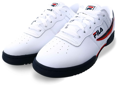 Fila White Original Fitness Trainer  - Click to view a larger image