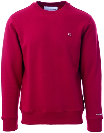 Calvin Klein Beet Red Boxy Sweatshirt  - Click to view a larger image