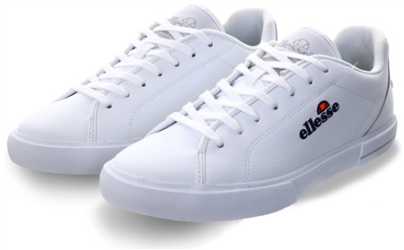 Ellesse White Taggia Trainer  - Click to view a larger image