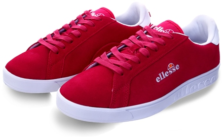 Ellesse Pink/White Campo Emb Trainer  - Click to view a larger image