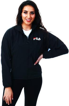 Fila Black Rupta - Track Top  - Click to view a larger image