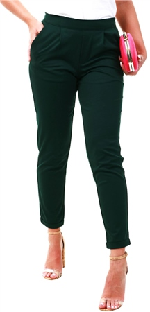 Jdy Green Soild Trouser  - Click to view a larger image