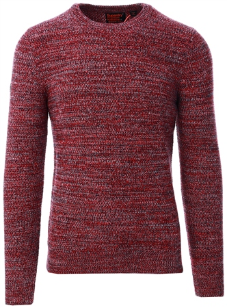 Superdry Downhill Twist Upstate Crew Jumper  - Click to view a larger image