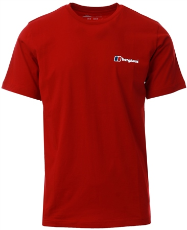 Berghaus Red Corporate Logo Tee  - Click to view a larger image