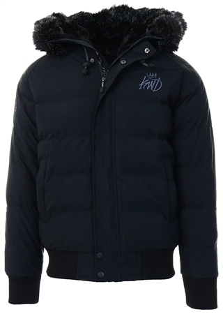 Kings Will Dream Black Branton Jacket  - Click to view a larger image