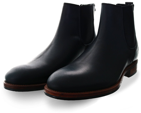 Bull Boxer Black Chelsea Boot  - Click to view a larger image