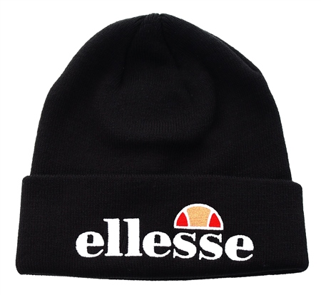 Ellesse Black Velly Beanie  - Click to view a larger image