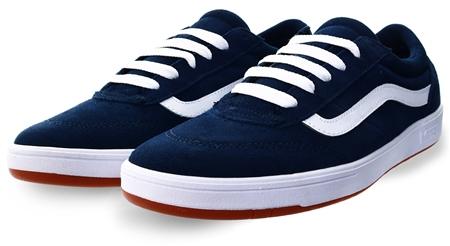 Vans Staple Dress Blues Staple Cruze Comfycush Shoes  - Click to view a larger image