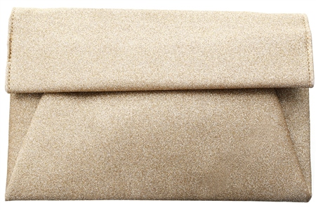 Koko Gold Textured Clutch Bag  - Click to view a larger image